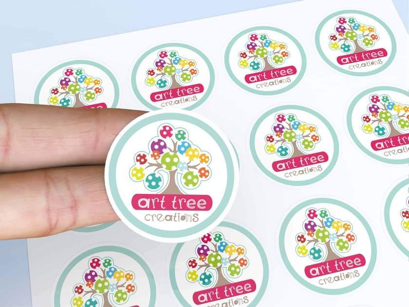 sticker dán giải pháp marketing kinh tế
