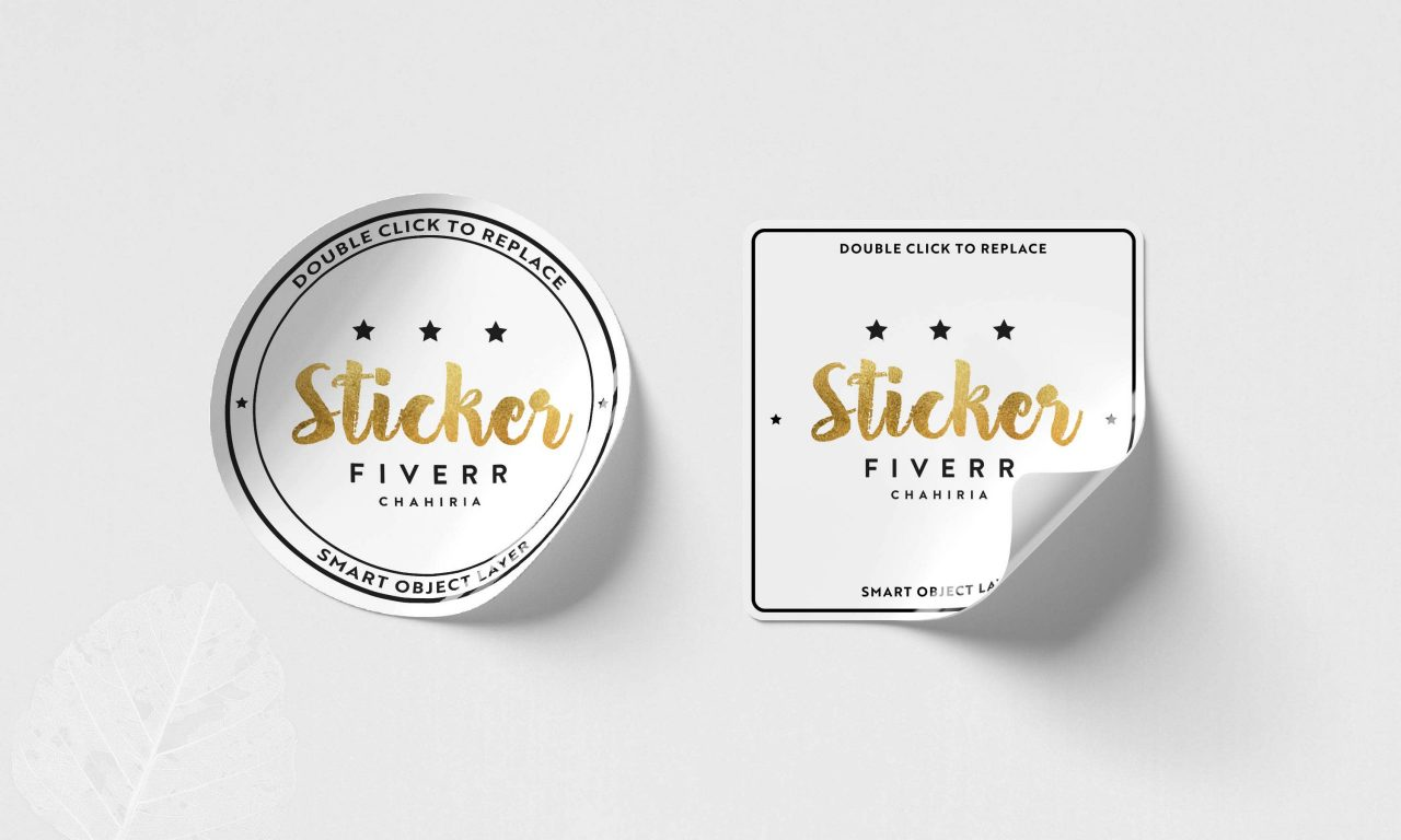 in sticker dán phong cách thương hiệu riêng