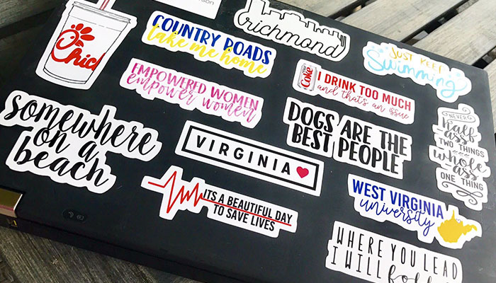 sticker dán laptop