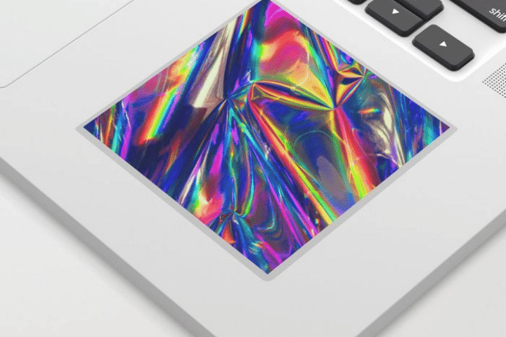 in decal hologram