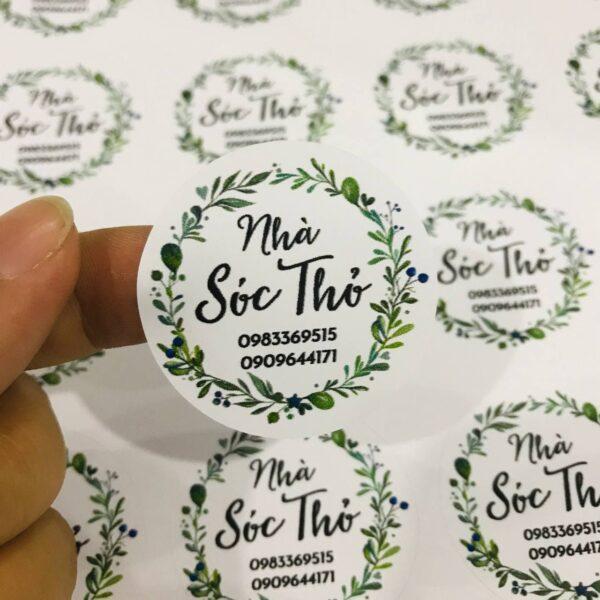 in sticker sheet