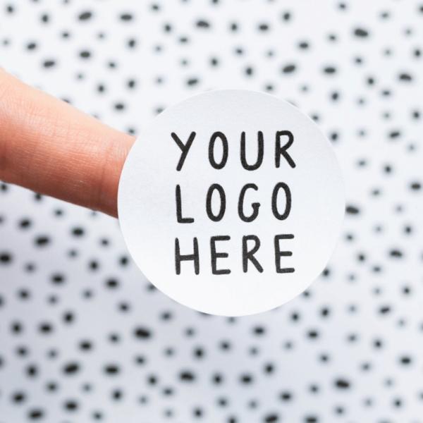 in sticker logo dán