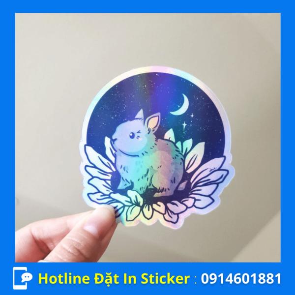 in sticker hologram